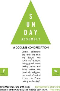 Sunday Assembly flyer